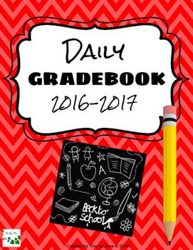 Daily Gradebook (2016-2017) - Red