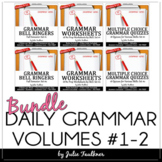 Ten-Minute Grammar, Daily Grammar Program FULL YEAR Bundle