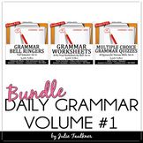 Daily Grammar Program First Semester Bundle, 18 weeks