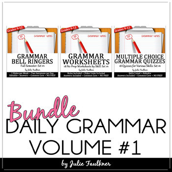 Ten-Minute Grammar, Daily Grammar Program First Semester B
