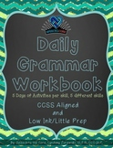 Daily Grammar Workbook