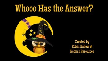 Daily Word Problems Multiplication and Division Halloween