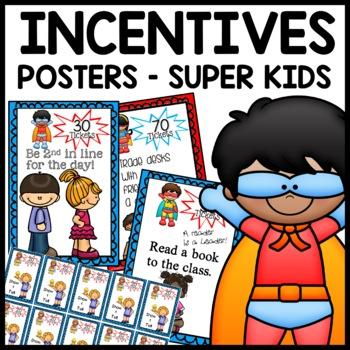 Daily Incentives (Superhero Themed)