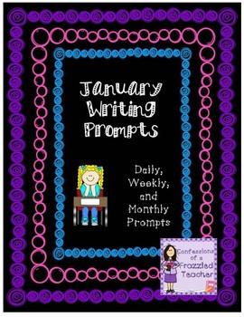Daily January Writing Prompts