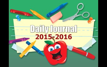 Daily Journal Writing and Math Computation Practice for en