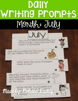 Daily Writing Prompts {July}