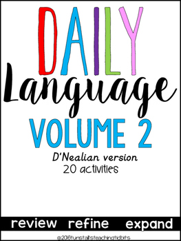 Daily Language 2 D'Nealian