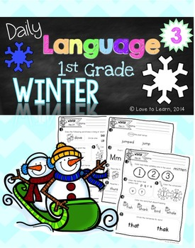 Daily Language 3 (Winter) First Grade