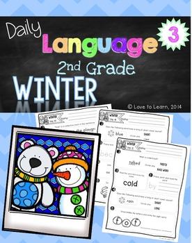 Daily Language 3 (Winter) Second Grade
