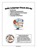 Daily Language Check #31-60