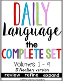 Daily Language D'Nealian The Complete Set