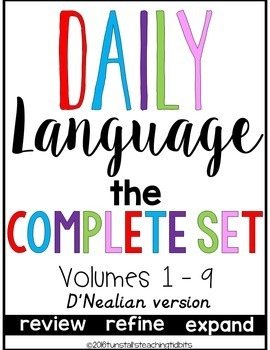 Daily Language D'Nealian The Complete Set