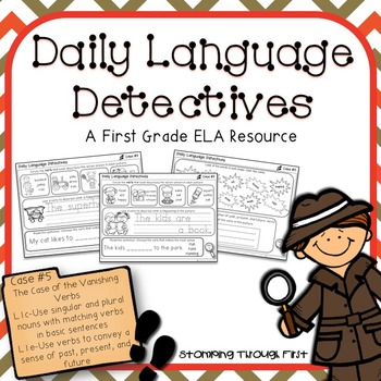 First Grade Daily Language Detectives: The Case of the Van