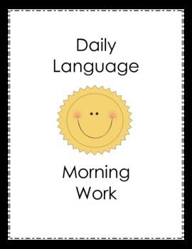 Daily Language Morning Work