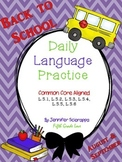 Daily Language Practice: August & September
