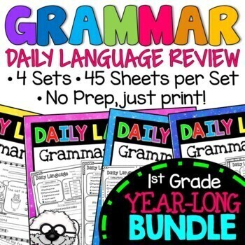 Daily Language Practice BUNDLE Grammar Review, Sets 1-3 by Eugenia's Learning Tools