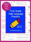 Daily Language Practice-Common Core Aligned- Morning Work-