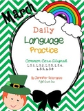 Daily Language Practice: March