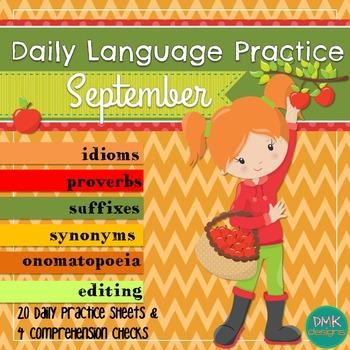 Daily Language Practice -September