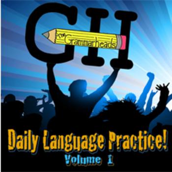 Daily Language Practice! Volume 1 - Educational Grammar Mu