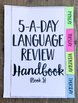 3rd Grade Daily Language Spiral Review | Morning Work