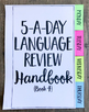 4th Grade Daily Language Spiral Review | Morning Work