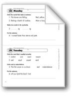 Daily Language Review, Grade 1: Week 24
