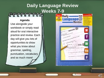 Daily Language Review for 2nd Grade: Interactive PowerPoin