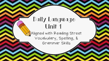 Daily Language Unit 1