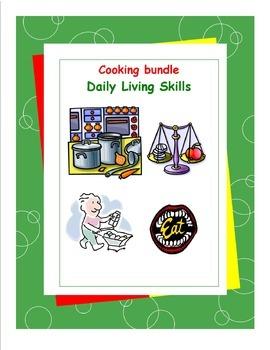 Cooking Workbooks Bundle Pack - Daily Living Skills