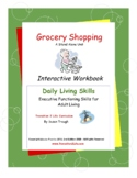 Grocery Shopping Workbook-Daily Living Skills
