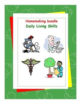 Homemaking Workbooks Bundle Pack-Daily Living Skills
