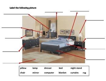 Daily Living Skills: Label Bedroom
