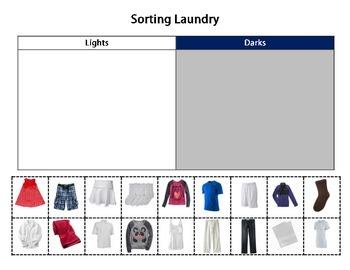 Daily Living Skills: Sorting Laundry