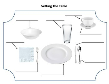 Daily Living Skills: Table Setting
