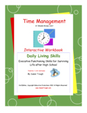 Time Management Workbook-Daily Living Skills