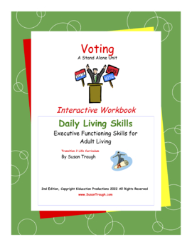 Voting Workbook-Daily Living Skills