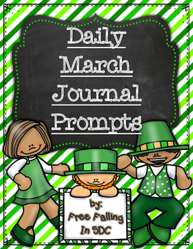 Daily March Journal Prompts