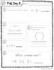 Daily Math 2 (Fall) First Grade