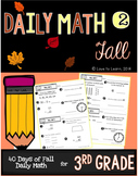Daily Math 2 (Fall) Third Grade