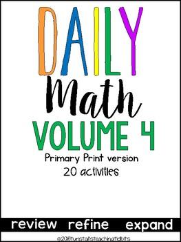 Daily Math 4