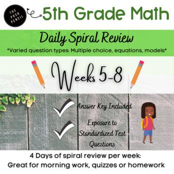 Weeks 5-8 Daily Math: Multi-Digit Multiplication Whole Num