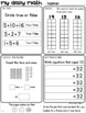 Grade 1 Daily Math Workbooks SET 3