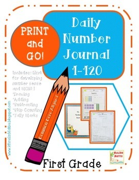 Daily Math Review -Numbers and Operations  1-120 CCA-Print