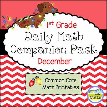 Daily Math *Companion Pack* -    1st Grade Math Printables
