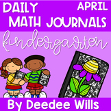 Daily Math Journals for April-CCSS Aligned