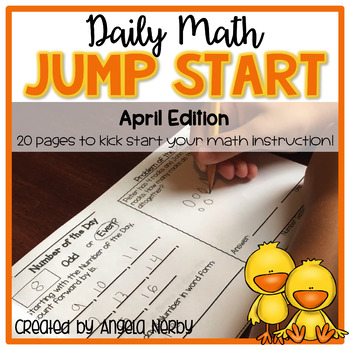 Daily Math Jump Start: April {2nd Grade}