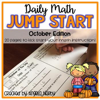 Daily Math Jump Start: October {2nd Grade}