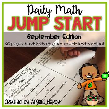Daily Math Jump Start: September {2nd Grade}