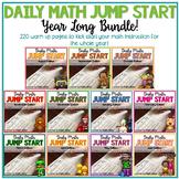 Daily Math Jump Start: YEAR LONG BUNDLE {2nd Grade}